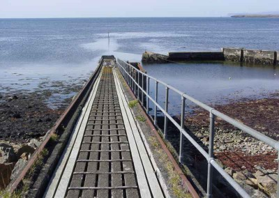 Hun Lifeboat Slipway  (Summer 2002)